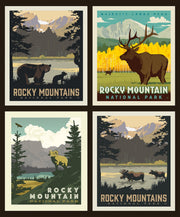 National Parks Rocky Mountains