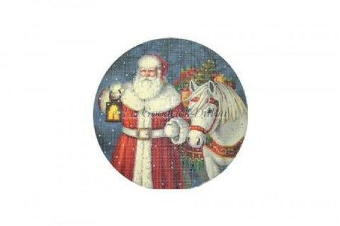 Santa with Horse & Presents