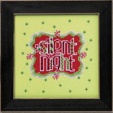Silent Night Cross Stitch Kit