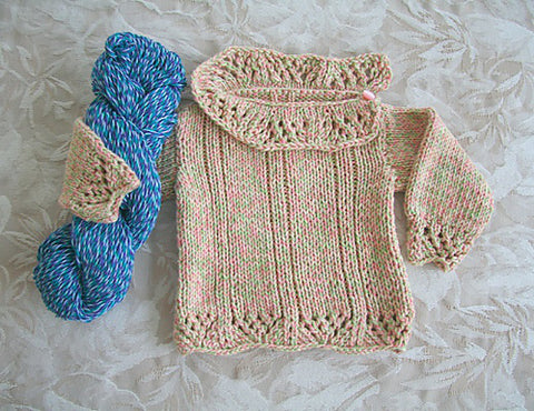Sweet Pea Sweater for Baby