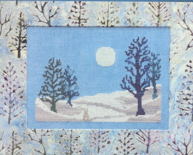 Winter Moonlight Cross Stitch Pattern