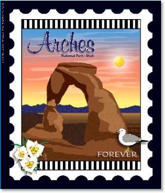 National Park Stamps