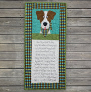 Dogs Prayer Panel and Pattern
