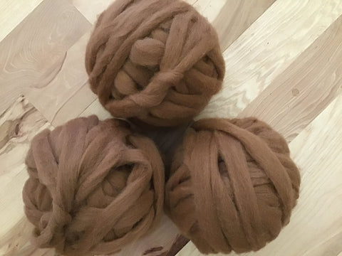 Alpaca Roving Enchanted Fibers