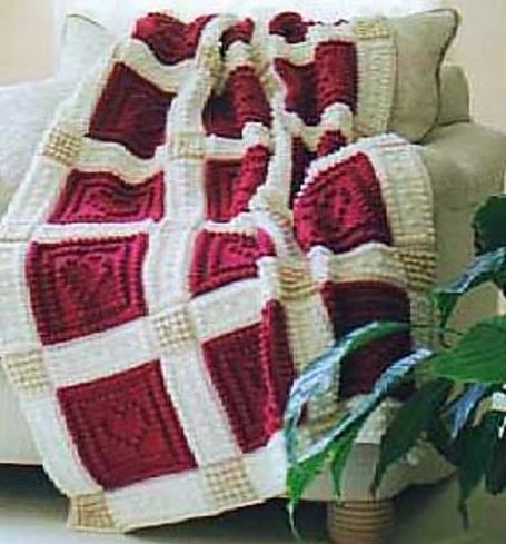 Hearts Blanket (crochet pattern)