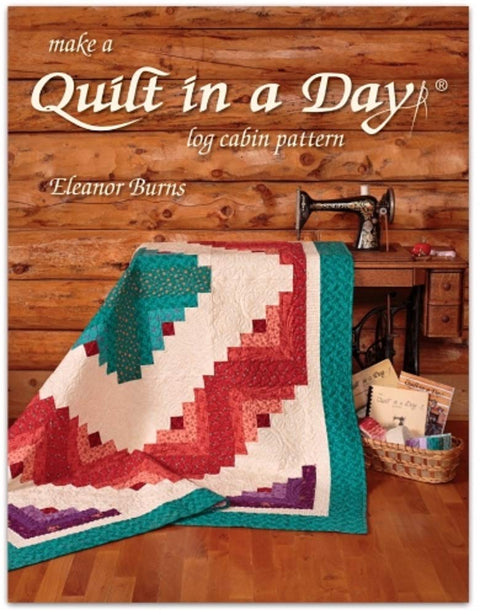 Make a Quilt in a Day-Log Cabin Pattern