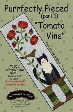 Purrfectly Pieced (Part 1) Tomato Vine Kit