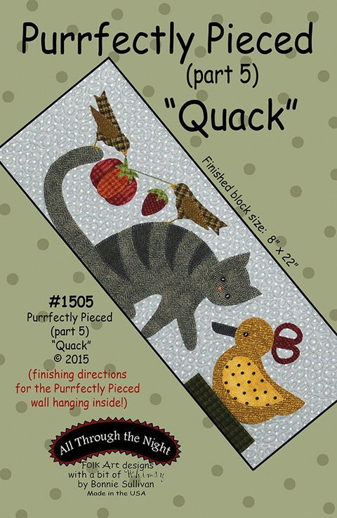 Purrfectly Pieced (Part 5) Quack Pattern