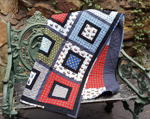 Boxed and Framed Quilt Pattern