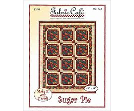 Sugar Pie Pattern by Fabric Cafe