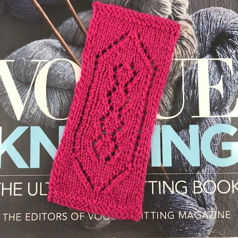 Knitting 101-Introduction to Lace Knitting