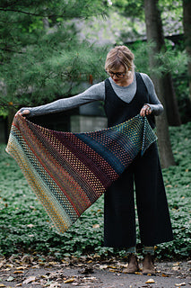 Night Shift Shawl Pattern