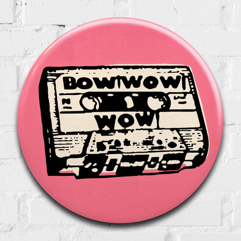 Bow Wow Wow GIANT 3D Vintage Pin Badge