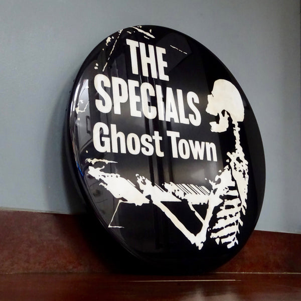 The Specials (Ghost Town) GIANT 3D Vintage Pin Badge