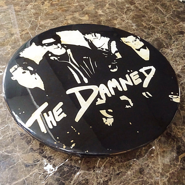 The Damned (New Rose) GIANT 3D Vintage Pin Badge