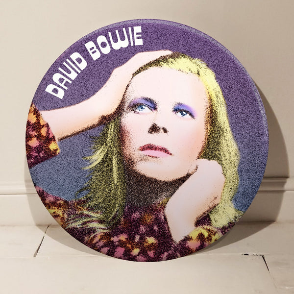 David Bowie GIANT 3D Vintage Pin Badge