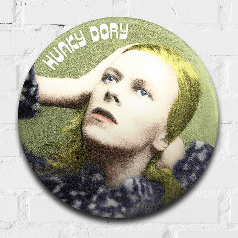 David Bowie, Hunky Dory GIANT 3D Vintage Pin Badge