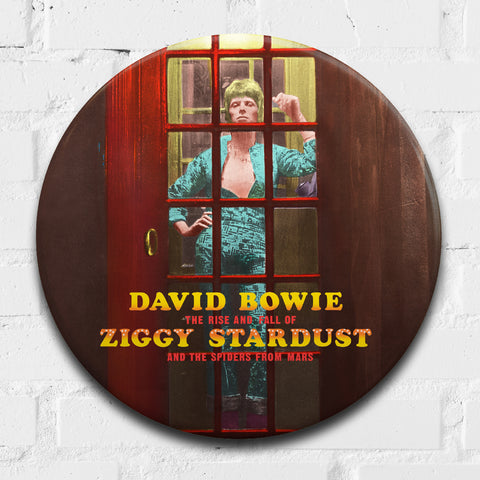 David Bowie, Ziggy Stardust 2 GIANT 3D Vintage Pin Badge