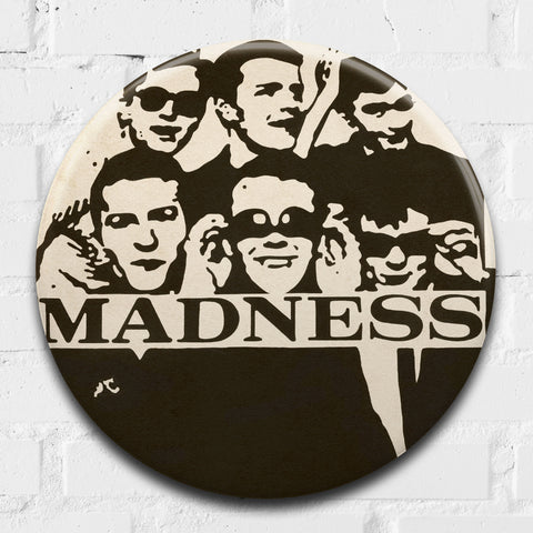 Madness, My Girl GIANT 3D Vintage Pin Badge