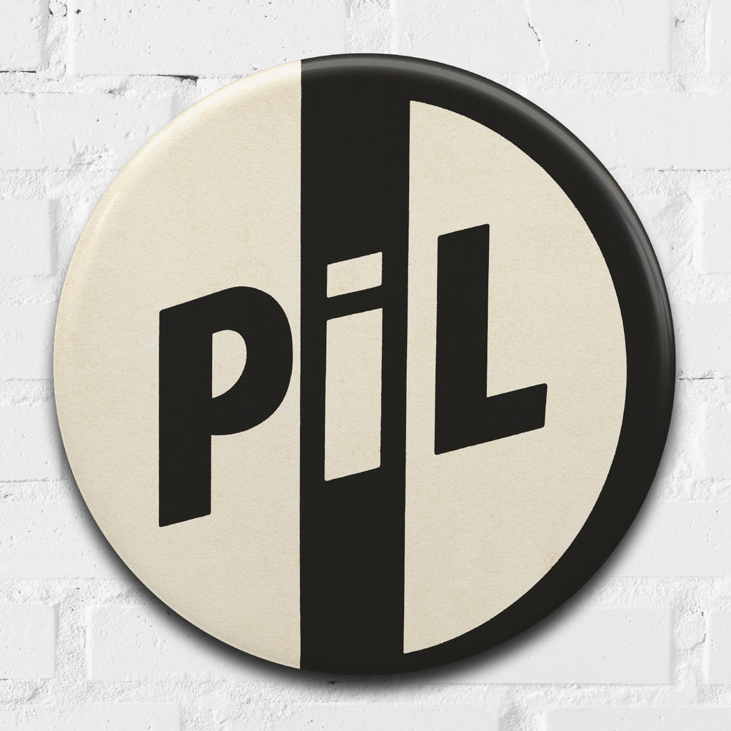 Public Image Ltd (PIL) GIANT 3D Vintage Pin Badge