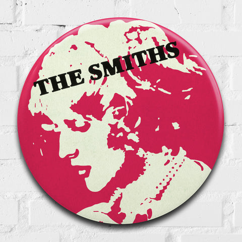 The Smiths (Sheila Take A Bow) GIANT 3D Vintage Pin Badge
