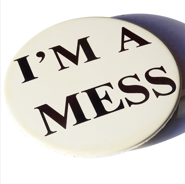 Stormtrooper - I'm A Mess (Sid Vicious) GIANT 3D Vintage Pin Badge