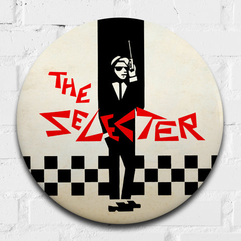 The Selecter GIANT 3D Vintage Pin Badge