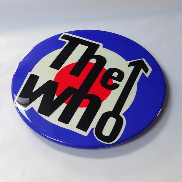 The Who GIANT 3D Vintage Pin Badge
