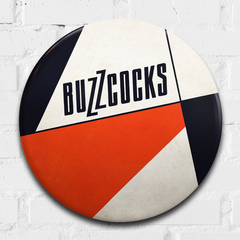 Buzzcocks GIANT 3D Vintage Pin Badge