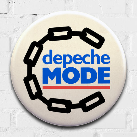 Depeche Mode GIANT 3D Vintage Pin Badge