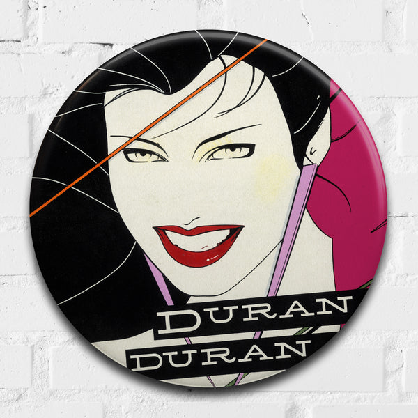 Duran Duran (Rio) GIANT 3D Vintage Pin Badge