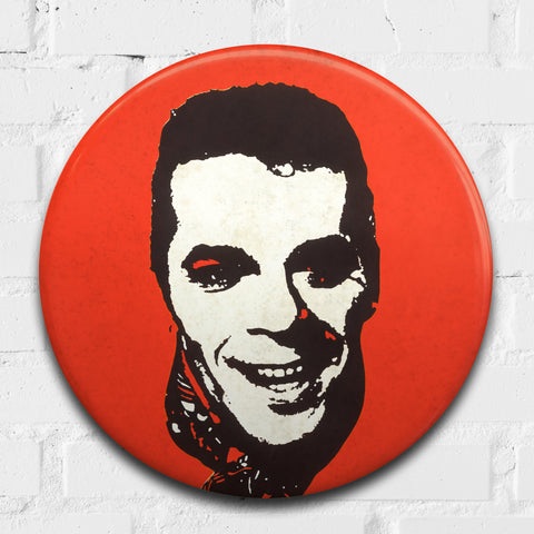 Ian Dury GIANT 3D Vintage Pin Badge