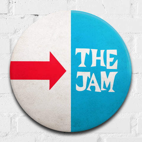 The Jam, Smash Hits GIANT 3D Vintage Pin Badge