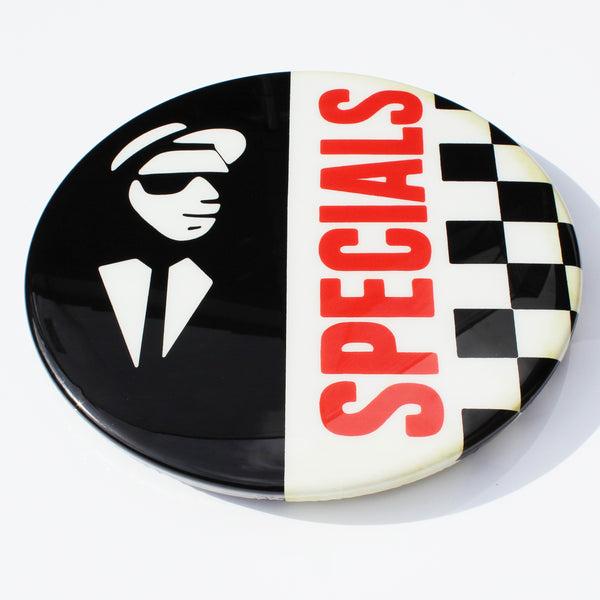 The Specials GIANT 3D Vintage Pin Badge