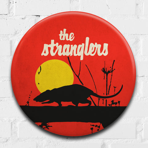 The Stranglers GIANT 3D Vintage Pin Badge