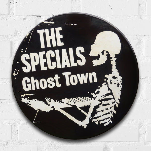 The Specials, Ghost Town GIANT 3D Vintage Pin Badge