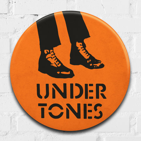 The Undertones GIANT 3D Vintage Pin Badge