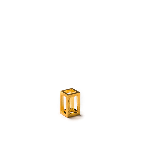 108.16 A - Rectangle XS - 24ct gold-plated silver
