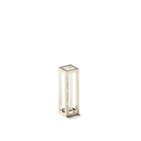 108.35 A - Rectangle M - silver - Felix Doll Jewelry