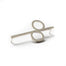 701 A -  Two Circle Pin - silver - Felix Doll Jewelry