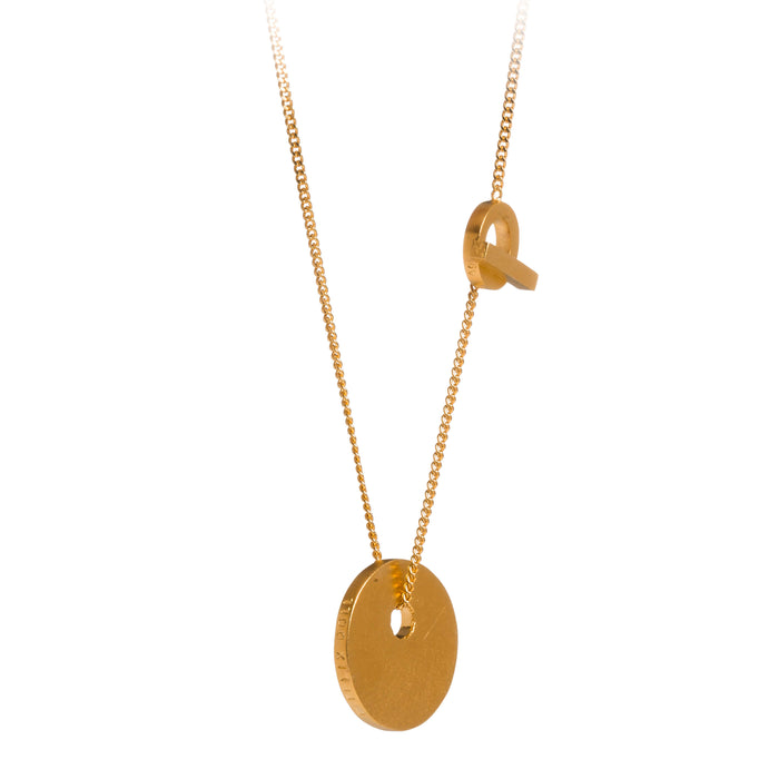 Pendant - C 114.S - gold-plated brass