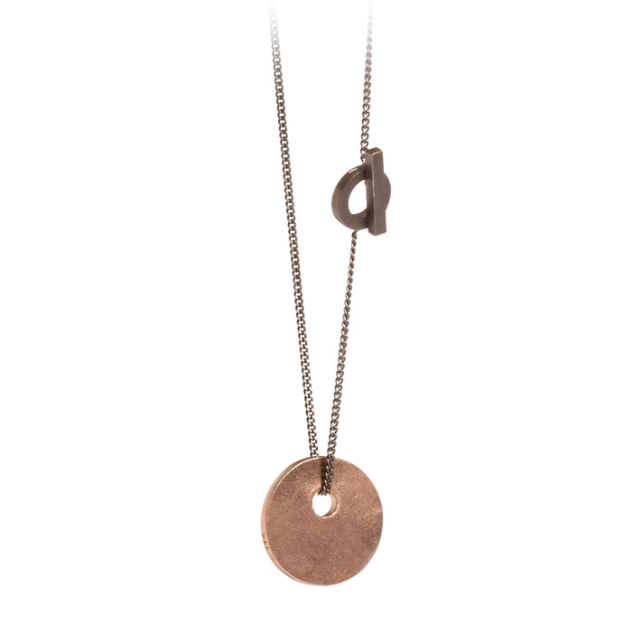Pendant - C 114.S - Rose gold-plated brass