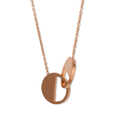 Necklace - D 122 - Rose gold-plated Sterling silver