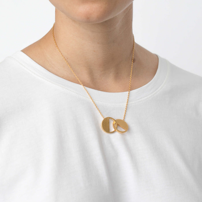 Necklace - D 122 - Gold
