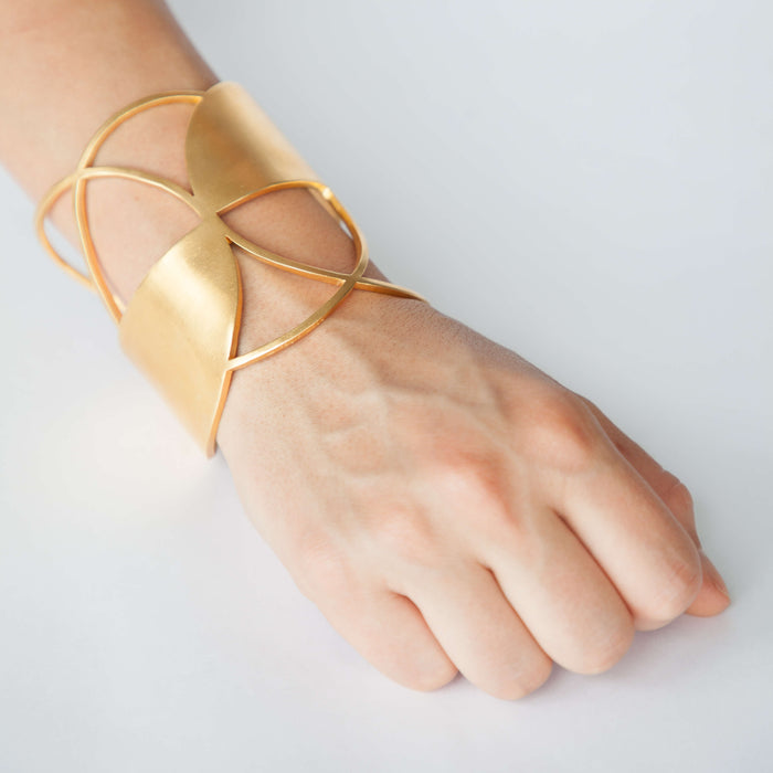 Bracelet - D 426 - gold-plated brass