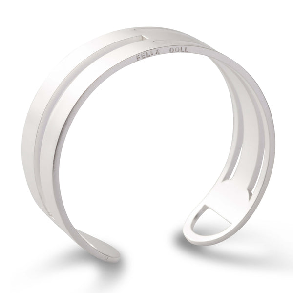 438.1 D - Architect Bracelet Nr.2 - silver-plated brass