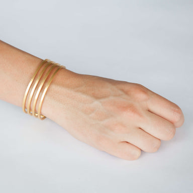Bracelet - D 438.2 - gold-plated brass