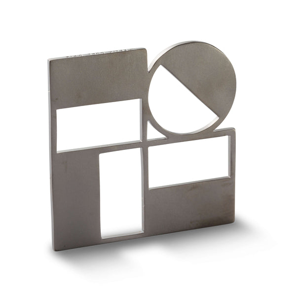 712 D - Architect Pin - Black Rhodium plated brass