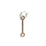Hoop Pendant - E 145 - Rose Gold