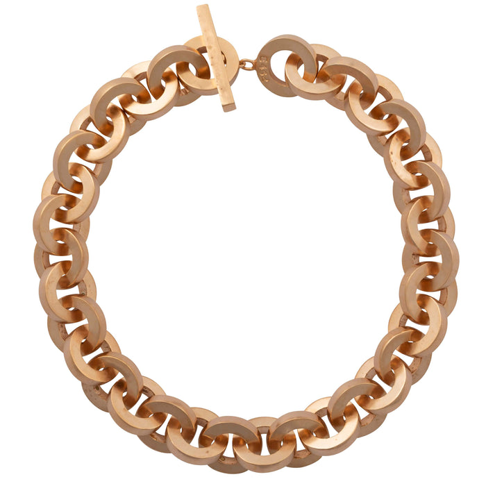 E 156 - Big Circle Chain Necklace